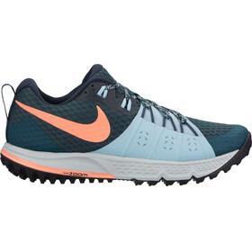 Nike Air Zoom Wildhorse 4 Running Shoes Women deep jungle/crimson pulse-ocean bliss